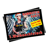 Nächstes Event: 2017-12-25 , Rammstein Party